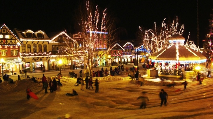 (Last Call) Leavenworth Christmas Event: Day Trip On A Luxury Charter W/