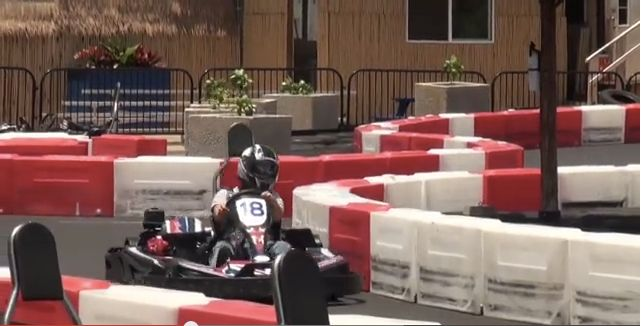Two Go-Kart Races at the Groove Hawaii