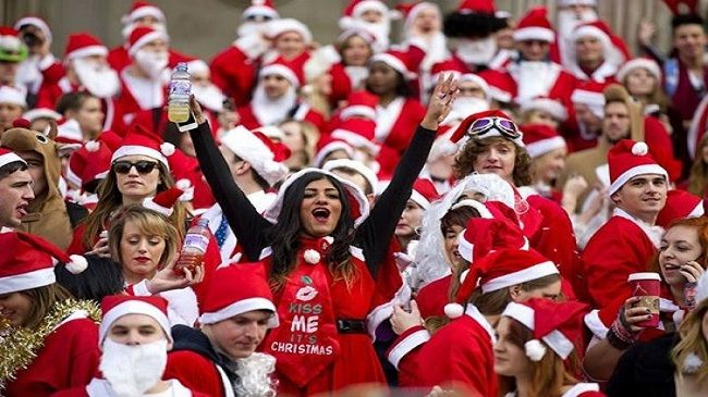 One General Admission to Santa Crawl (Route 1)