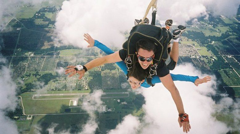 Tandem Skydiving Jump for 1