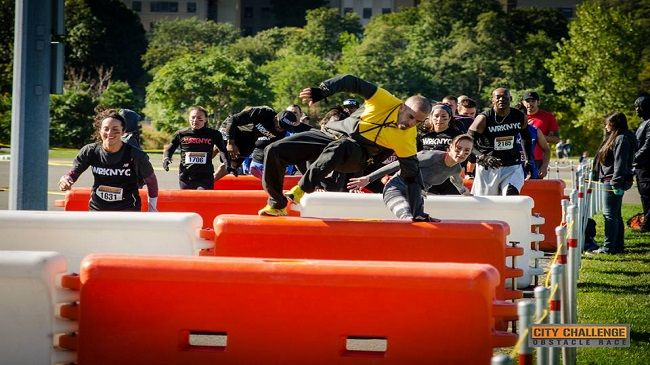 One Entry to City Challenge Obstacle Race