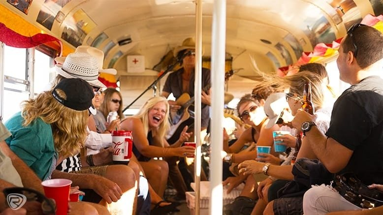 1 Sunday Funday 3-Hour Double-Decker Bus Pub Crawl