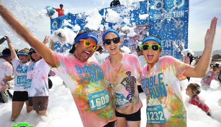 Admission to the Bubble Run