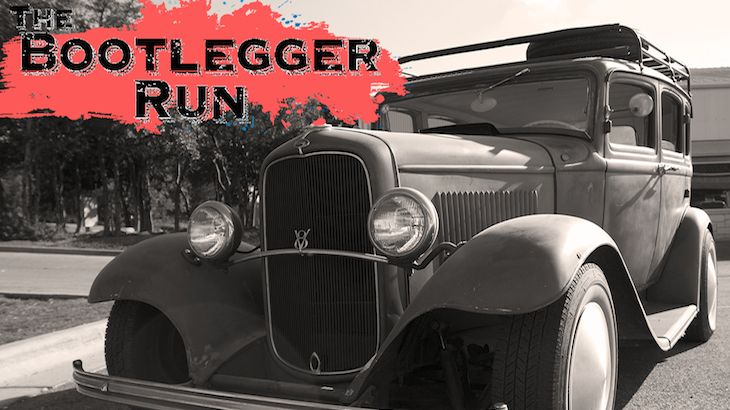 One Vehicle Entry to Bootlegger Run