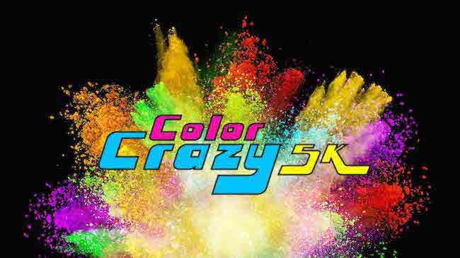 For One Entry to Color Crazy 5K