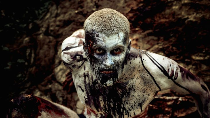 Adult Admission to the Dead Garden Run Zombie Apocalypse