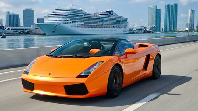 Driving Experience: Drive 10-miles in a Lamborghini