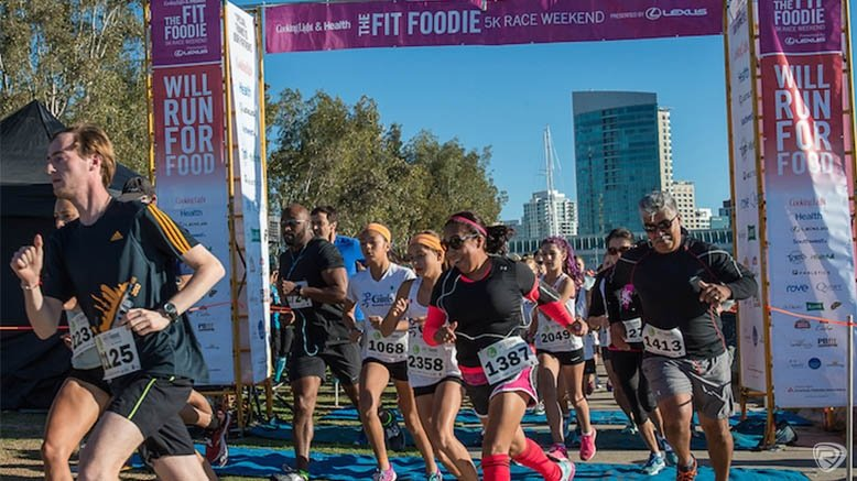 1 Entry to the Fit Foodie 5K