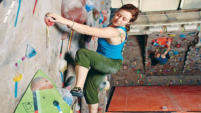 1-Hour Rock Climbing Lesson Plus  One Month Membership