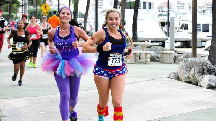 Entry to Miami Beach Halloween Freaky 4-Miler