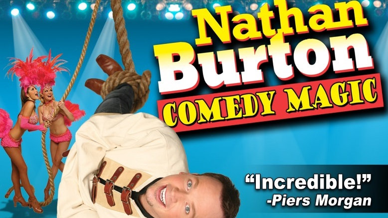 1 GA Ticket To Nathan Burton Comedy Magic show