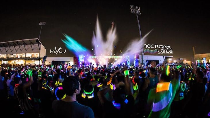 One Entry to Nocturnal Lands 5k Music Fest
