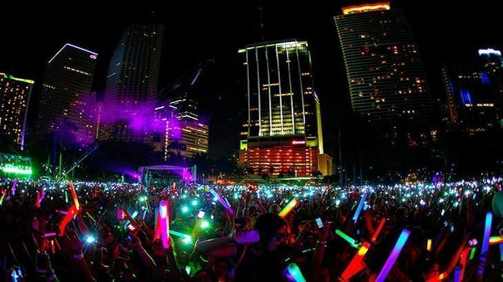 One Entry to Night Nation Run 5k Music Fest - Saturday, April 25th