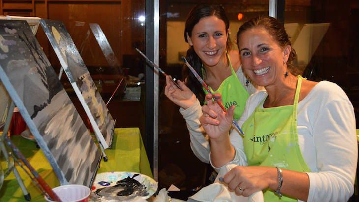 Paint nite austin discount tickets deal rush49 for Rush49 paint nite