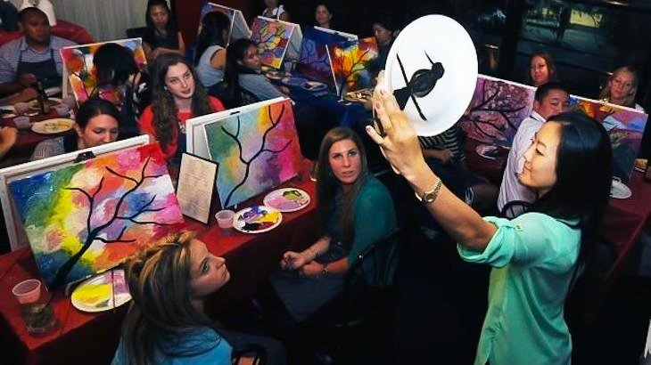 Paint nite toronto discount tickets deal rush49 for Rush49 paint nite