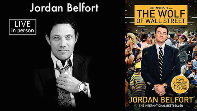 General Admission To A 3-day Straight Line Boot Camp With Jordan Belfort