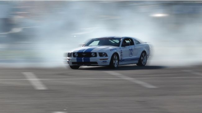 A Three-Lap Driving Experience