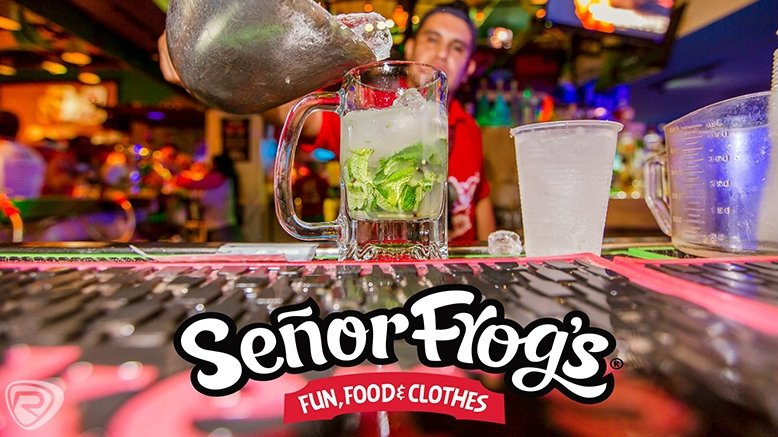 Lunch or Dinner for 2 at Señor Frogs