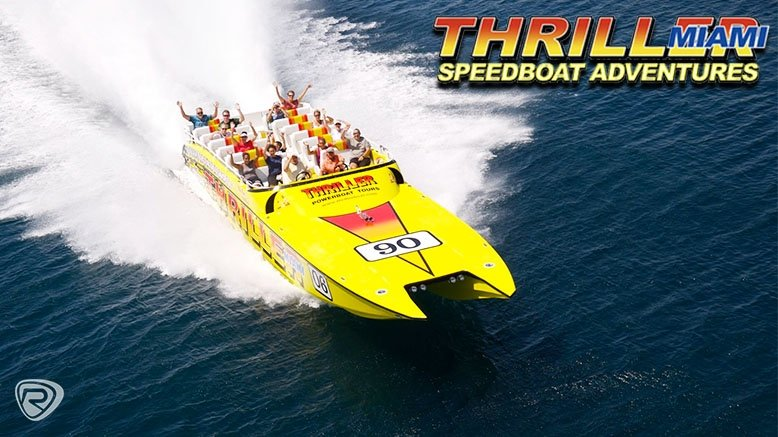 45-Minute Speedboat Adventure Tour of the Magic City for 1