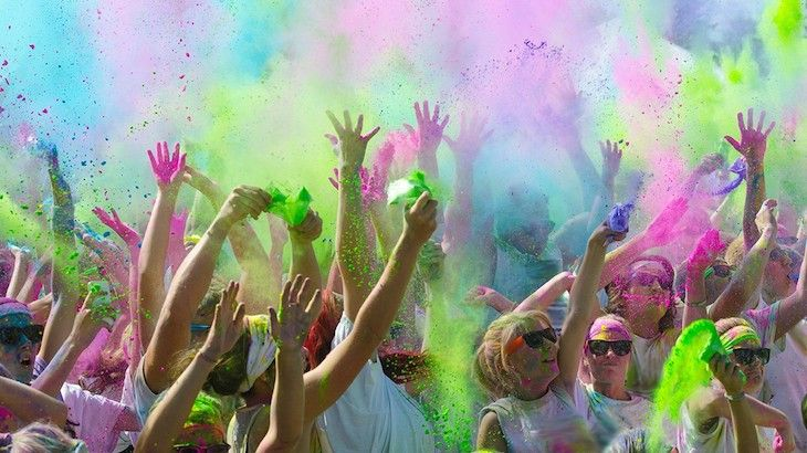 One Entry to The 5k Color Run
