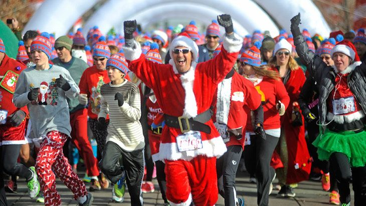 Entry to the Ugly Sweater Run