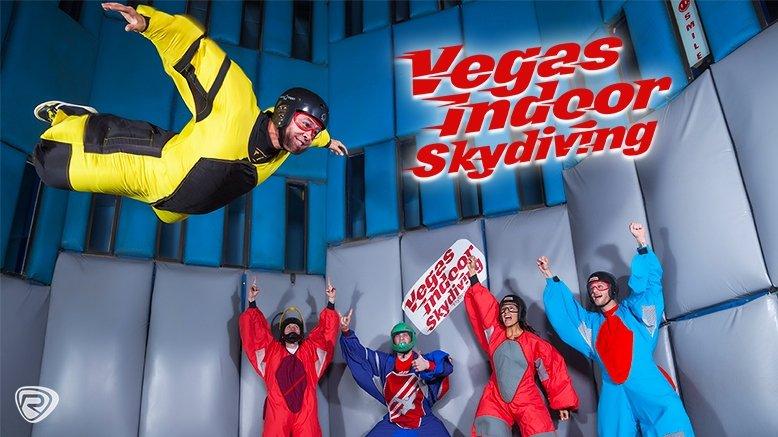 1 Indoor Skydiving Flight