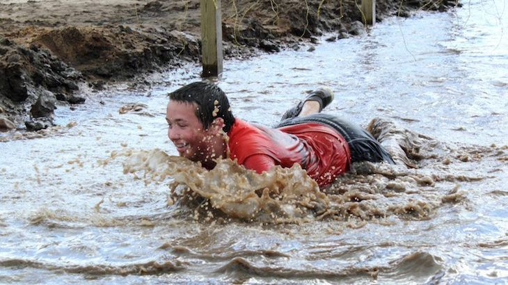 One Entry to Xtreme Muck Ruck
