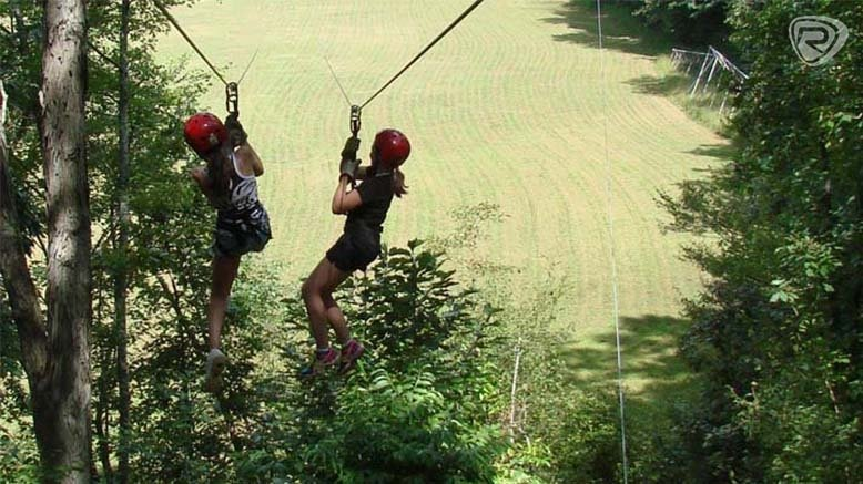 1 Two-Hour Daytime or Twilight Ziplines Canopy Tour