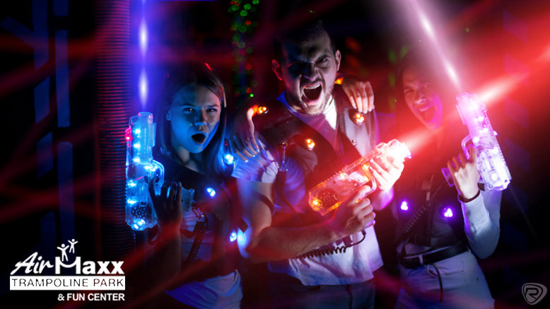 3 10-Minute Laser Tag Games for 4