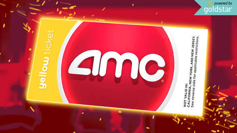 AMC Yellow Ticket (2 Ticket Minimum)