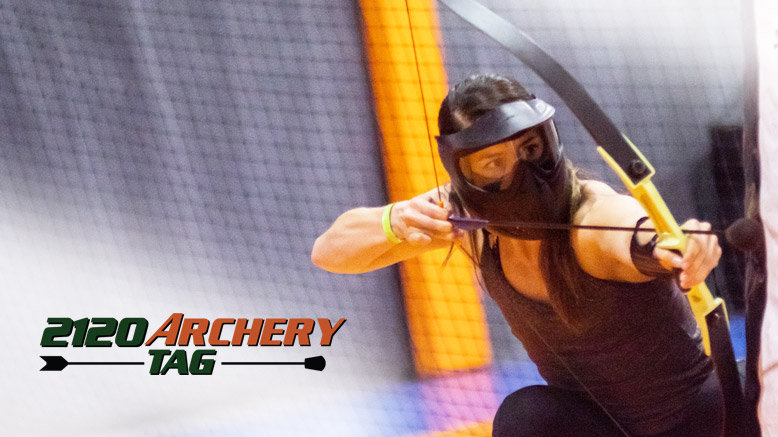 2 Person - 3 Matches of Archery Tag