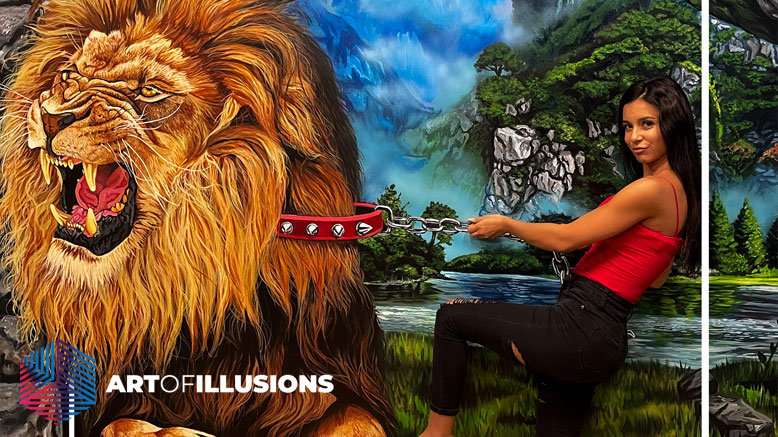 1 Adult Admission to Art of Illusions
