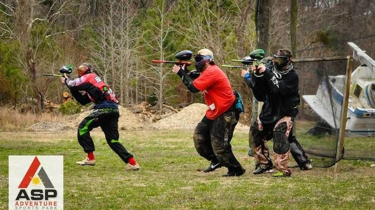 Paintball Party Package For Up To Ten People
