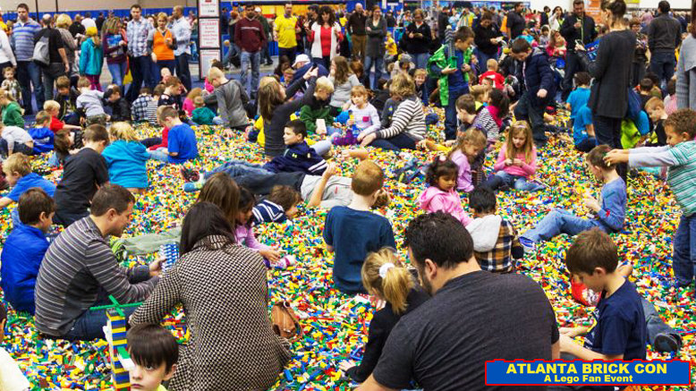 Saturday GA for 1 to Atlanta Brick Con