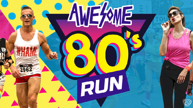 1 Untimed Entry to Awesome 80s 5K