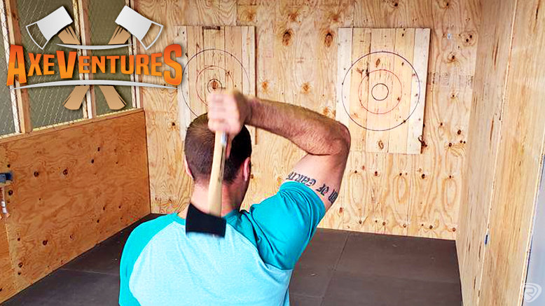Axe Throwing Session for 1 Person at 1.5-Hour Shared Lane