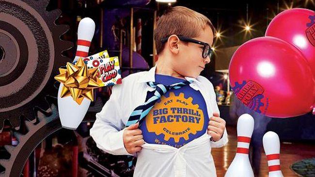 Play Card at Big Thrill Factory!