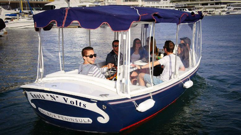 90-Minute Electric-Boat Rental