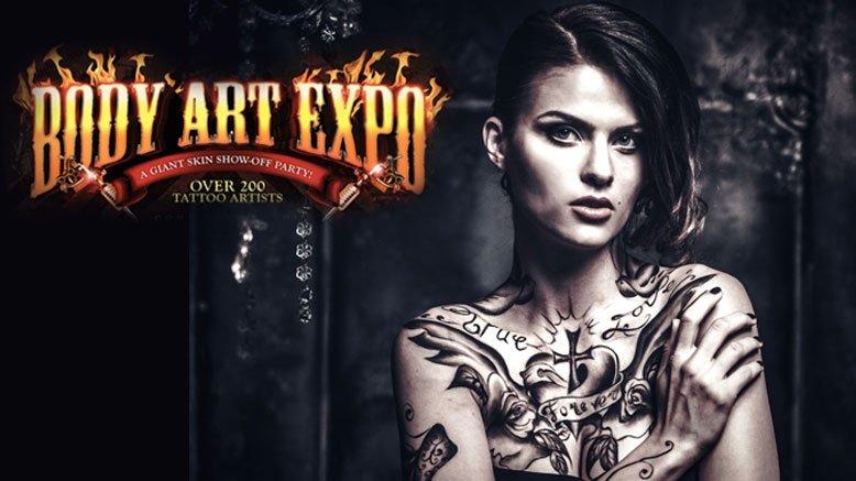 1 Friday Pass To Body Art Expo