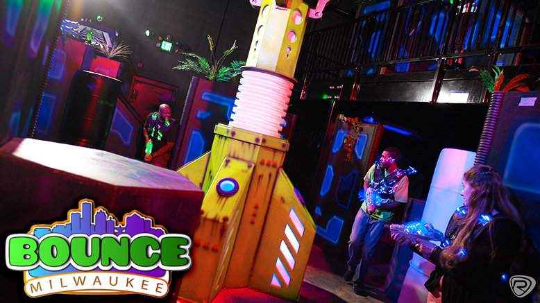 Unlimited Play, Laser Tag, Climbing + Drink for 1, Valid Fri or Sat After 9 p.m. (21+)