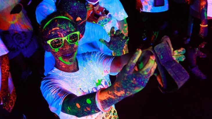 5K Race Entry, Shirt, and Glow Gear at Color and Glow Run