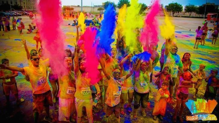 Entry To Color Fun Fest 5k Day Run