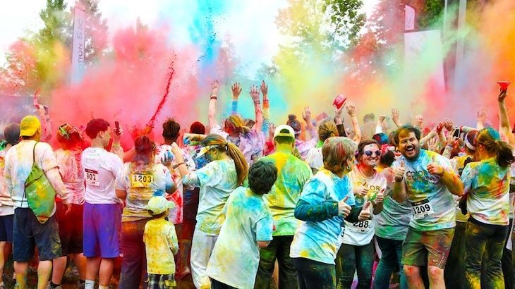 Race Entry to Color In Motion 5K