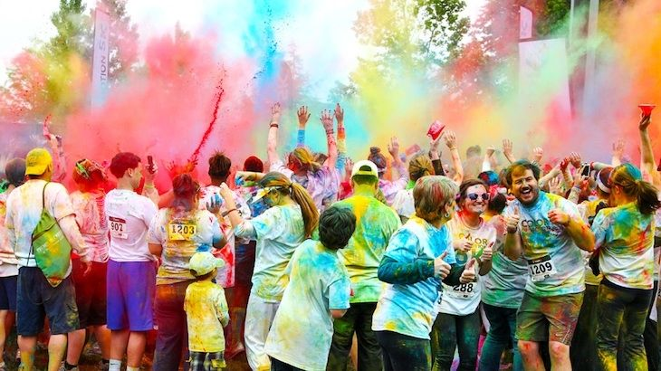 Race Entry to Color In Motion 5K Dallas
