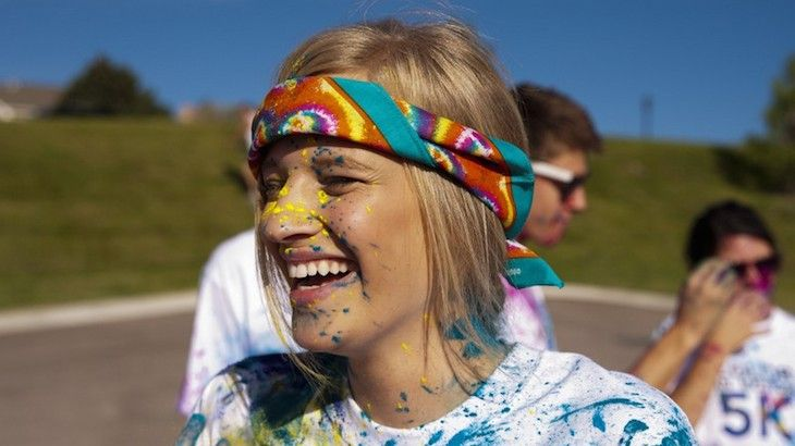 One Entry to the Color in Motion 5K
