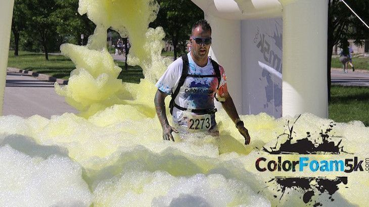 Color Your Run With Foamy Fun At The ColorFoam5K!
