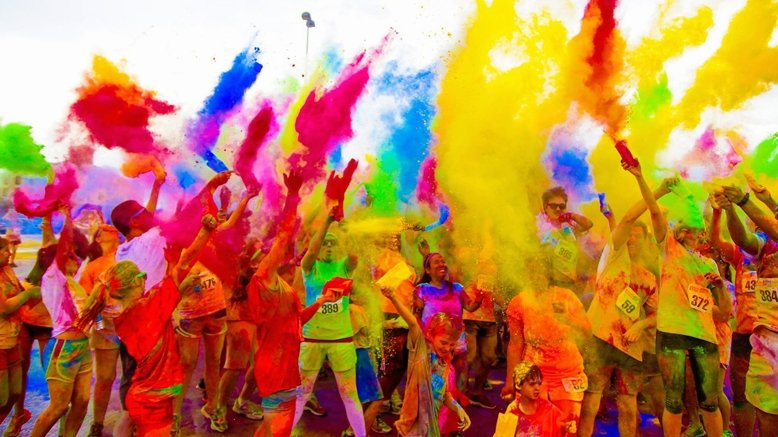 Color Fun Fest 5K Day Entry