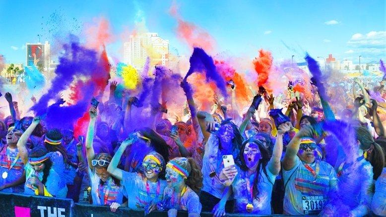 1 Color Run Entry