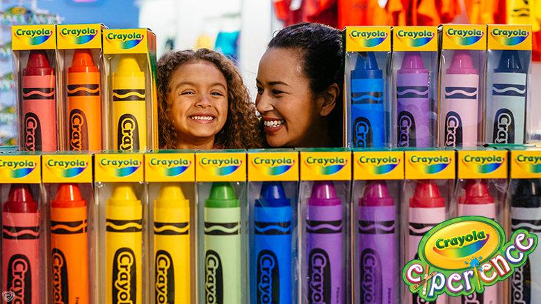 GA for 1 to Crayola Experience Easton