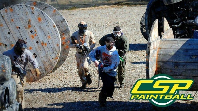 One All-Day Paintball Package